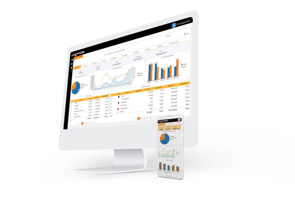 Erhalten Sie mit HIOPOS Analytics Management-Informationen in Echtzeit